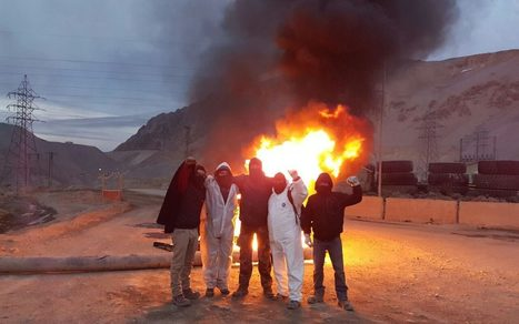 Anglo American condemns violence as Chilean protesters seize parts of copper mine   Greenconflict Solutions   Scoop.it