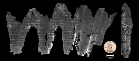 Computers Decipher Burnt Scroll Found in Ancient Holy Ark   News Through Tech ( or is it Tech through News?)   Scoop.it
