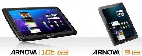 Archos Arnova G3 Tablets: Arnova 10b G3 and Arnova 9 G3 | Embedded Systems News | Scoop.it