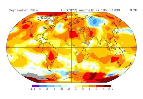 NASA: September Was Warmest Month on Record | Amazing Science | Scoop.it
