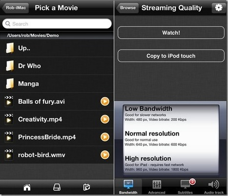 Stream Movies And TV Shows From PC Or Mac To iPhone With VLC Streamer | Mac And Linux | Scoop.it