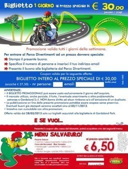 Biglietti Gardaland 2013 a prezzo ridotto | scontOmaggio | Anna | Scoop.it