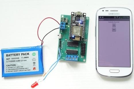 Contrôle d'une led avec MIT App Inventor | Ressources pour la Technologie au College | Scoop.it