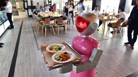 Des robots à l'assaut du monde de la restauration | ICI Radio-Canada Première | Vous avez dit Innovation ? | Scoop.it