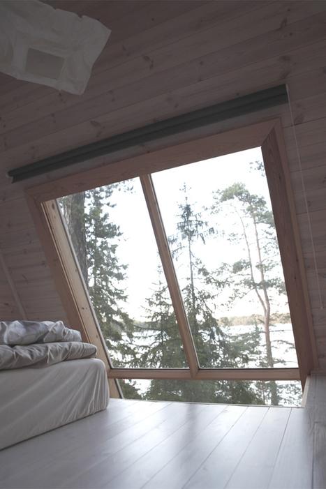 擁抱山林的環保渡假木屋 – Robin Falck | KAIAK | 建築 | Scoop.it