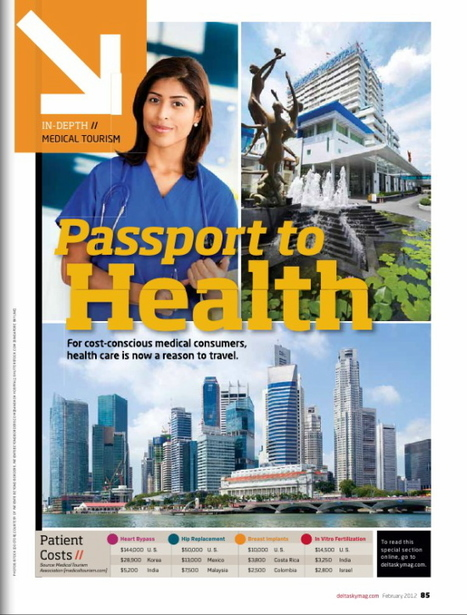 Delta Sky Magazine Section on Medical Tourism | Medical Tourism News | Scoop.it