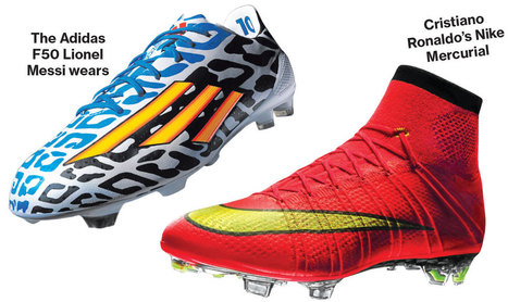 World Cup Shootout: Can Nike Beat Adidas at Soccer? | Innovation and digital soccer | Scoop.it