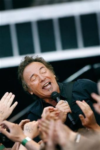 Bruce Springsteen nourrit de «grands espoirs» - Libération | Bruce Springsteen | Scoop.it