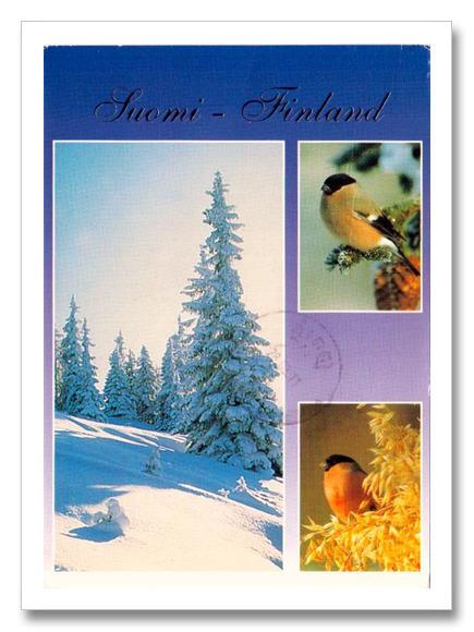Postcards Crossing: Postcard Perfect 003: Winter in Finland | Finland | Scoop.it