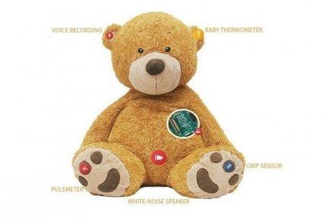 Un ours en peluche connecté pour suivre la santé de son bébé | Produits électroniques | Random :) | Scoop.it