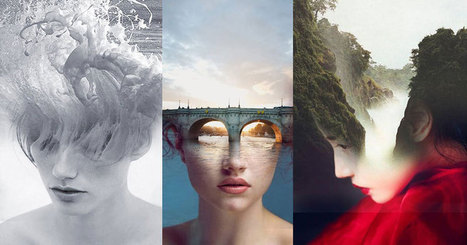 Surreal Self-Portraits Blended Into Landscape Photos | Sizzlin' News | Scoop.it