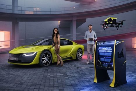 Why is there a drone built into this weird BMW i8? | Desife | Scoop.it