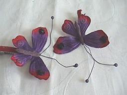 Amour de papillons - Où t'as eu ta barrette ? | outaeutabarrette | Scoop.it