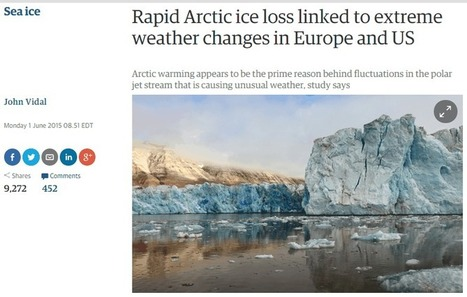 Arctic Sea Ice Extent Highest In A Decade | Climate Change | Scoop.it