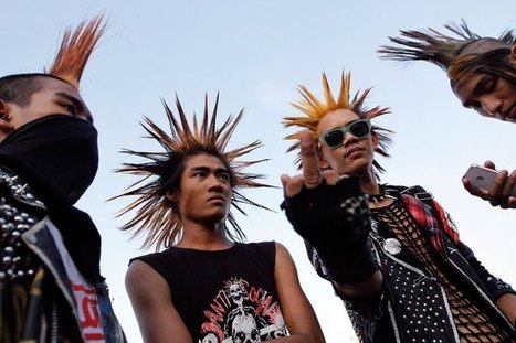 Punk in Burma: Cultural Appropriation & Resistance » Sociological Images | Visual Culture in Art: Understanding the Culture | Scoop.it