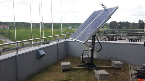 Pan/Tilt Solar Tracker Powered by #Arduino Mega Doubles as Online Energy Monitor via ESP8266 | Raspberry Pi | Scoop.it