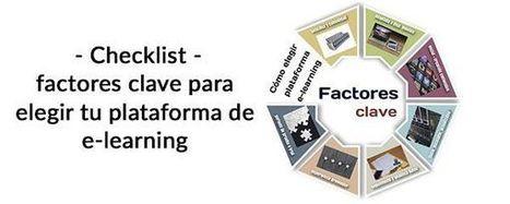 Checklist para elegir una plataforma de formación e-learning - LMS | APRENDIZAJE | Scoop.it