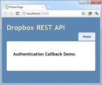 Dropbox REST API Part 6: OAuthCallback | Dropbox API for .NET | Scoop.it