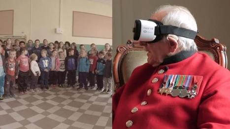 Second World War veteran uses virtual reality to return to scene of battle | Healthcare Engineering | Scoop.it