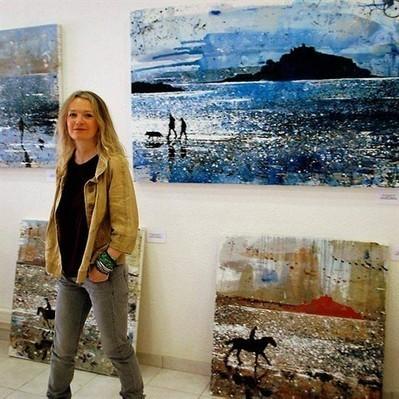 Mélanie McDonald, artiste côtière, à L'Ère du Large , Locquirec 29/10/2013 - ouest-france.fr | Locquirec Tourisme | Scoop.it