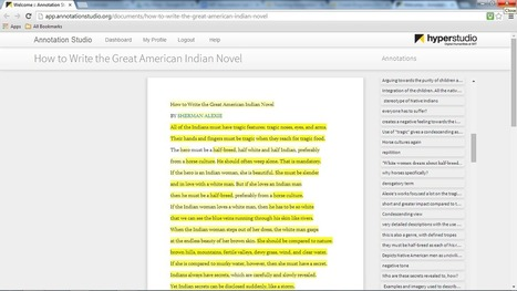 Collaborative Annotation: Teaching Close Reading with the MIT Annotation Studio | Integrated Learning and the Future of Higher Education | Scoop.it