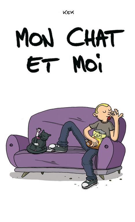 Mon chat et moi - kek | dessin | Scoop.it