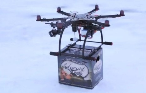 Government Shuts Down Small Brewery's Beer Drones | Small Business | Scoop.it