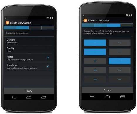 Déclenchement rapide d'actions sur Android, QuickClick | mlearn | Scoop.it