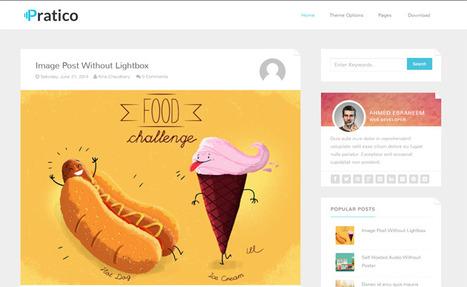 Pratico Clean & Responsive Blogger Template | Blogger Templates | Scoop.it