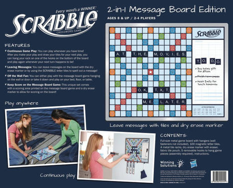 Message Board Scrabble Lets Everyone Play Whenever They Have Time | News we like | Scoop.it