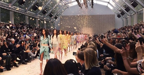 Burberry Uses Slow Motion on iPhone 5S for Dazzling Effects | Mobile (Post-PC) in Higher Education | Scoop.it