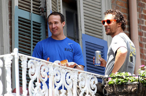 Brad Pitt Tosses A Beer To Matthew McConaughey Upon Realizing They Are Neighbors | Winning The Internet | Scoop.it