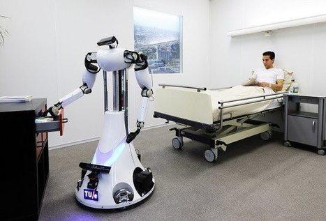 Cuatro robots, un solo cerebro en la nube y un paciente que cuidar: RoboEarth ya es real | LOLA Curiosity | Scoop.it