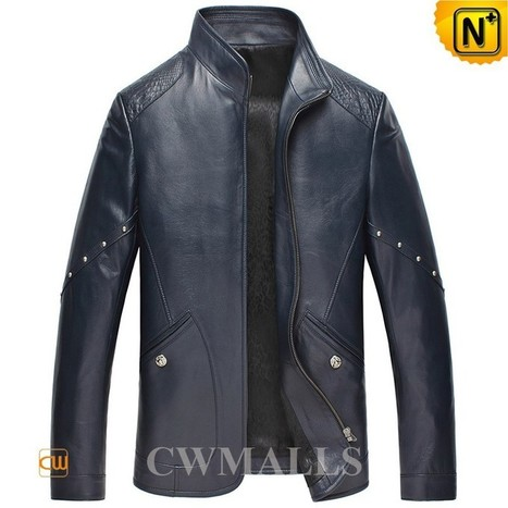Mens Sheepskin Leather Jackets CW850405 | Leather Blazer Jacket | Scoop.it