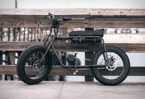 Vélo électrique avec un design old school   Arkko   Scoop.it
