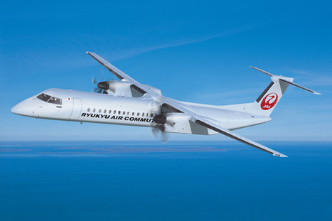 Ryukyu Air Commuter takes delivery of the first Bombardier Q400 cargo-combi aircraft | AIR CHARTER CARGO AND FREIGHT | Scoop.it