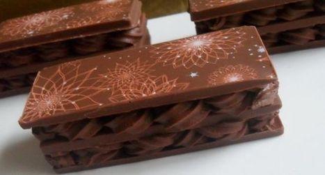 Millefeuille tout choco avec moule à chocolat - Essyndic.com | Cuisine, Recettes et art culinaire | Scoop.it