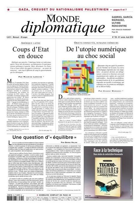 De l'utopie numérique au choc social, par Evgeny Morozov (Le Monde diplomatique, août 2014) | Communication à l'ère du numérique | Scoop.it