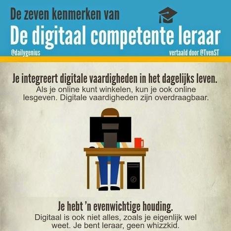 Zeven kenmerken van de digitaal competente leraar   Gadgets en onderwijs   Scoop.it