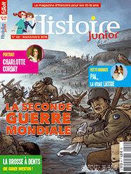La Seconde Guerre mondiale | Histoire Junior n° 44 | Revue de presse - Nouveautés à retrouver au CDI | Scoop.it