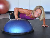 Workout: Bosu push-up walk-over - Daily Breeze | Food & Body Revolution | Scoop.it