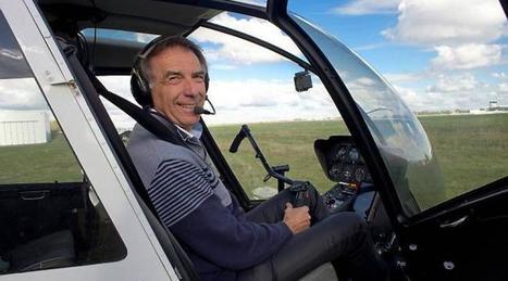 Reportage. Pilote d'hélicoptère, Robert montre la voie des airs - Ouest-France   métier pilote d'avion   Scoop.it