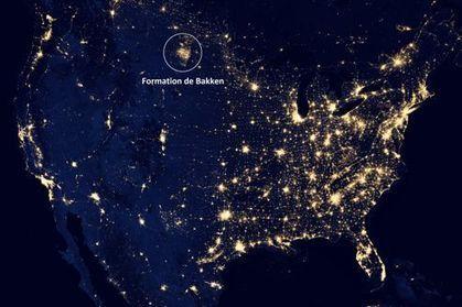 Les gaz de schiste brûlés visibles depuis l'espace | RSE, Sécurité & Environnement | Scoop.it