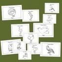 Aves para colorear - Escuela en la nube | Artistica visual en la escuela | Scoop.it