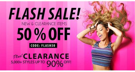 Pink Basis Flash Sale Take 50% off PinkBasis.com | Pink Basis Discounts & Giveaways | Scoop.it