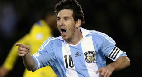 Messi does not need World Cup for greatness, says Maradona | Sandhira Sports | Scoop.it