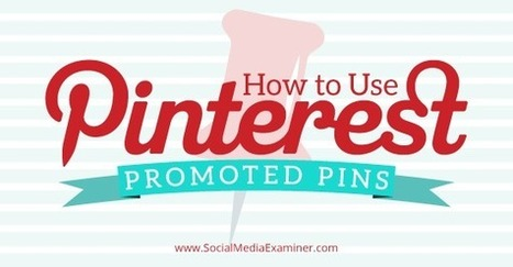 How to Use Pinterest Promoted Pins | Young Adult & Reference Librarians | Scoop.it