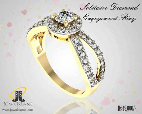 Solitaire Diamond Engagement Ring | Diamond Solitaire Ring | Scoop.it