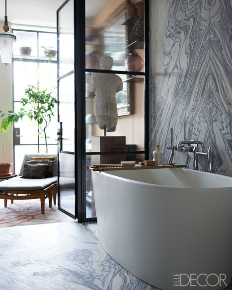 Large Marble Slab for Bath Walls are Totally In! | All About Bathroom Remodel | Scoop.it