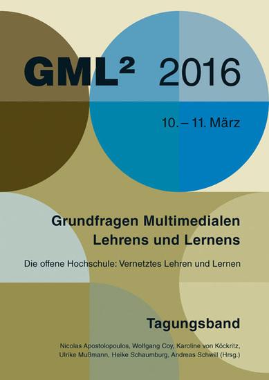 """GML16 Tagungsband: """"Vernetztes Lehren und Lernen""""   Waxmann Verlag   MOOC in DACH (Deutschland, Österreich & Schweiz)   Scoop.it"""